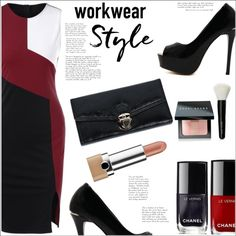 Workwear by mycherryblossom on Polyvore featuring Bobbi Brown Cosmetics and Chanel