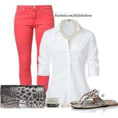 A fashion look from March 2015 featuring Steffen Schraut blouses, Lee jeans and Tory Burch sandals. Browse and shop related looks.
