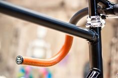 Hand made handlebar leather wrap
