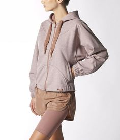 12 Gym Essentials That Will Make You Want to Work Out : Adidas by Stella McCartney Run Hoodie in Tan Sport Style, Sport Chic, Stella Mccartney Adidas, Sport Fashion, Fitness Fashion, Fitness Outfits, Gym Essentials, Sport Inspiration, Athletic Fashion