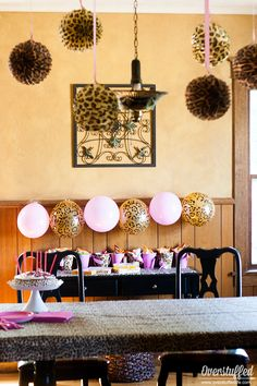 Super Simple Cheetah Birthday Party Ideas | Overstuffed