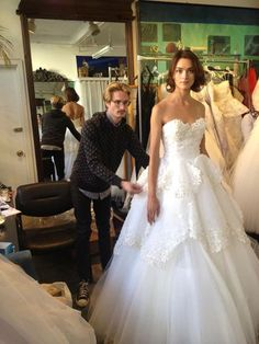 Austin Scarlett Fall 2013 Wedding dress gorgeous!