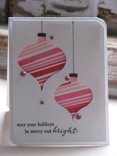 Ornaments card