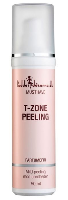 Pudderdåsernes Musthave - T-zone peeling. BHA. I need to try this!!
