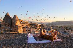 Cappadocia, Turkey – Hot Air Balloon Experience