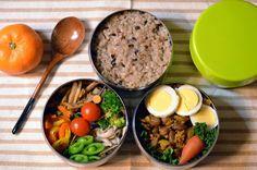 金時豆の豆カレー(小国町・ゆけむり茶屋)