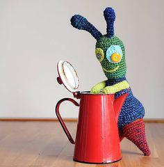 crochet Martian