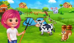 Join one of the most popular #Farming #Game & complete different challenging tasks in this #KidsGame.