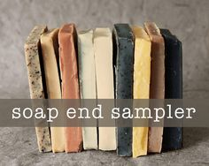 Soap End Sampler  All Natural Soap Handmade by RockyTopSoapShop, $15.00