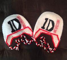 1 Direction crochet hats