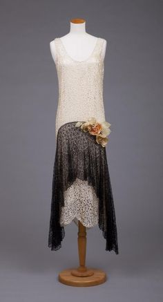 Dress By Callot Soeurs,   c.1920's  -  The Goldstein Museum of Design