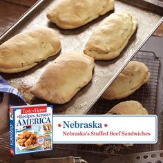 Nebraska -- Nebraska's Stuffed Beef Sandwiches