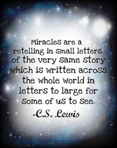 #68 - Miracles | Top 100 C.S. Lewis quotes | Deseret News