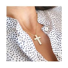 #ANMAjewellery #beautyful #minimalchic #classic #baptismcross #ready #lovesymbol #faithstrong #baptism #baptismday #finejewelry #keepitforever #diamondcross #itsagirl https://www.etsy.com/listing/521573005/diamond-yellow-gold-solid-cross-pendant?ref=shop_home_active_13