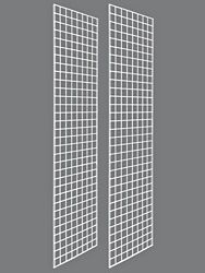 x 3 (sold in sets of 2 so 6 total)- Gridwall Panels - 2 x color: white Fuel Juice Bar, Cardboard Shipping Boxes, Interior Design Photos, Wall Mount Bracket, Vertical Or Horizontal, Shipping Supplies, Poly Bags, Flooring, Storage