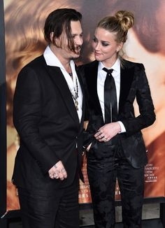 Married - 2015 -Johnny Depp and Amber Heard