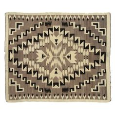 Antique Navajo Rug w/ Feathers by Ruby + George