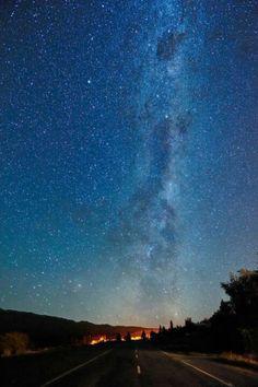Beautiful star sky
