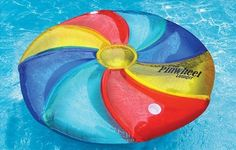 Swimline Pinwheel Inflatable Island Pool Lounger * You can get more details by clicking on the image.(It is Amazon affiliate link) #photooftheday