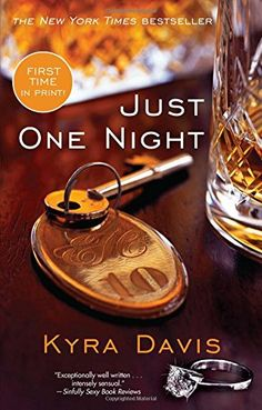 """Just One Night by Kyra Davis. You should sleep with a stranger, her best friend whispered in her ear—and so begins the intense, erotic journey of Kasie Fitzgerald in Book One of the Just One Night series, a blockbuster bestseller and """"an uplifting story in which sex is presented both as freedom and as a metaphor for power"""" ( Publishers Weekly ). Kasie Fitzgerald knows who she's supposed to be. Responsible. Reliable. Predictable. She's an ambitious workaholic who is devoted to the sensible..."""