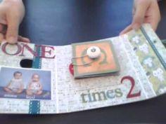 A card using Sizzix Twist Cube die #656739