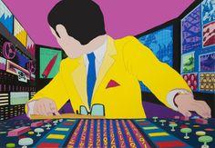 Pushwagner - The boss kunst til salgs i nettgalleriet Graphic Artwork, Art Inspo, Surrealism, Pop Art, Boss, Museum, Graphic Design, Fine Art, Comics