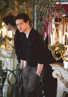 James McAvoy--again, love the clothes.