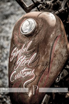 Sinful Steel Customs #Ratrod #Motorcycles