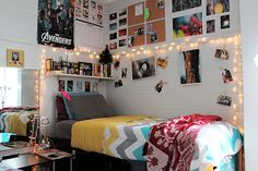 Etsy: College dorm room shopping list #college #dorm #decor #shopping #musthaves