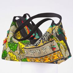 Swag Bag African Fabric