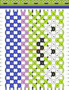 Friendship bracelet normal pattern by dimshadow String Bracelet Patterns, Diy Bracelets Patterns, Diy Bracelets Easy, Thread Bracelets, Embroidery Bracelets, Summer Bracelets, Bracelet Crafts, Bracelet Designs, Diamond Bracelets
