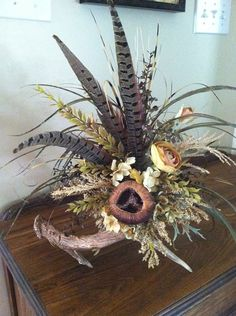 Deer Antler Floral Arrangement