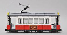 lego tram | Flickr - Photo Sharing!