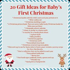Baby\'s First Christmas - Baby Boy Gift Ideas | Christmas | Pinterest ...
