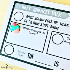 How to use Mini Objects in Speech Therapy - The Speech Bubble