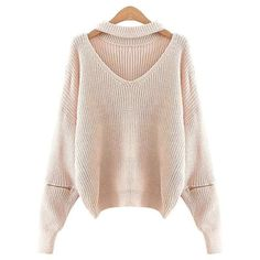 Gamiss Winter Halter V-neck Knitted Sweater Women Casual loose zipper pull femme Fashion Autumn high quality pullover jumper