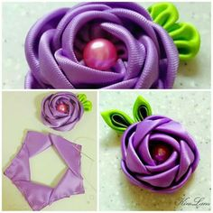 How to make simple fabric roses diy tutorial instructions how to how to do diy instructions crafts do it yourself diy website art project ideas by irinaide desouzacoelhoHow to make simple Fabric Roses DIY tutorial instructions thumb How to make simple Fab Fabric Roses Diy, Satin Ribbon Roses, Fabric Flower Tutorial, Ribbon Art, Satin Flowers, Diy Ribbon, Fabric Ribbon, Ribbon Crafts, Flower Crafts