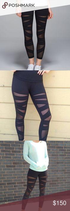 • Lululemon • High Times Tech Mesh Stunning mesh detail • No pilling • lululemon athletica Pants Leggings