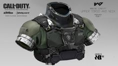 I've already spoken a little of my love for this game's art design, but today I'm going to showcase a much wider range of work from a team of artists who worked on Call of Duty: Infinite Warfare. Cod Infinite Warfare, Airsoft, Tactical Suit, Call Of Duty Infinite, Armor Clothing, Carapace, Futuristic Armour, Sci Fi Armor, Concept Art World