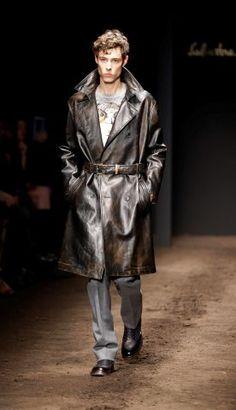 Salvatore Ferragamo men& part of the Milan Fashion Week, unveiled in Milan, Italy,