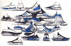 Footwear Concepts and Sketches on Behance