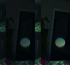 Orbs in the home double shot.
