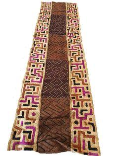 African Textiles│A-Grade Kuba Cloth 2 African Furniture, African Home Decor, African Textiles, Bohemian Rug, Inspiration, Clothes, Biblical Inspiration, Clothing, Kleding