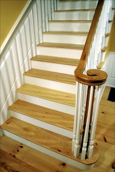 Eastern White Pine Stair Treads   Premium Grade With A Tung Oil Finish