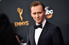 Tom Hiddleston Photos Photos - Actor Tom Hiddleston attends the 68th Annual Primetime Emmy Awards at Microsoft Theater on September 18, 2016 in Los Angeles, California. - 68th Annual Primetime Emmy Awards - Arrivals