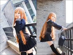 Taiga from Toradora Cosplay omg. so cute and perfect. T ^T