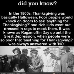 Thankful this isn't the case anymore. #HappyThanksgiving #thankful #turkeyday   Share the helpful knowledge!