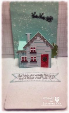 A STAMPING & CHIRPING Corner: Winter house.