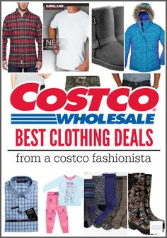 You can buy anything at Costco, but some of the best deals are found in clothing section. Here are the Best Costco Clothing Deals For Your Family - so you can save 50% and look stylish too.