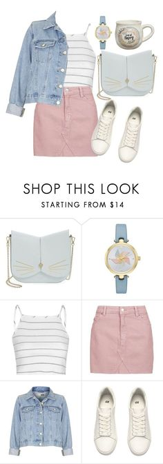 """Untitled #273"" by ksenia1ksu on Polyvore featuring Ted Baker, Kate Spade, Glamorous, Topshop, H&M and Natural Life"